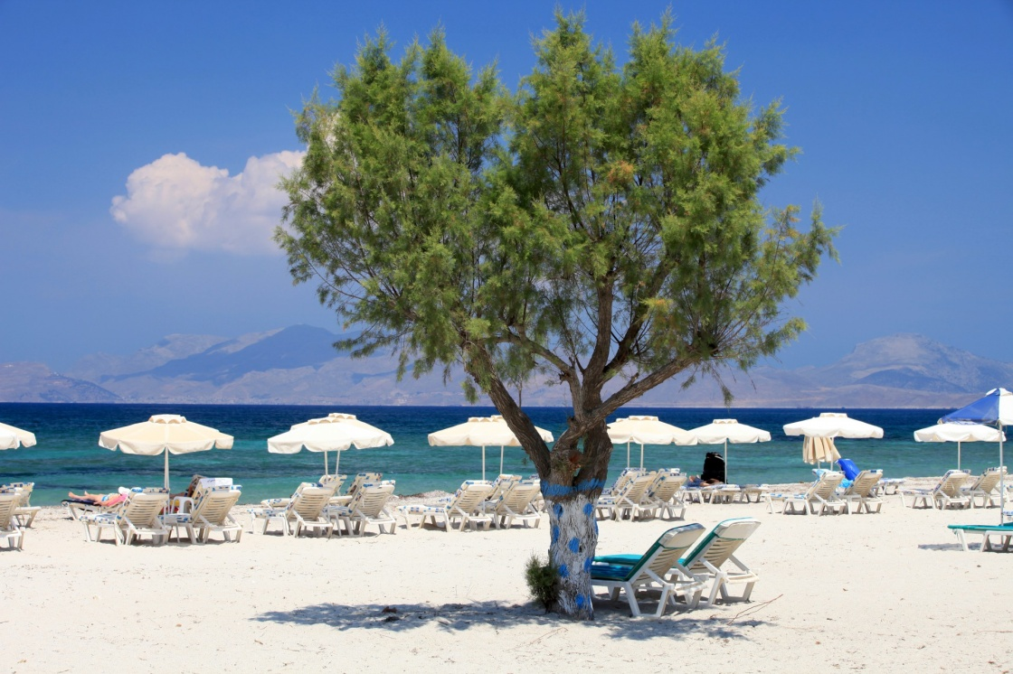 'Mastichari beach on Kos Island, Dodecanese' - Kos